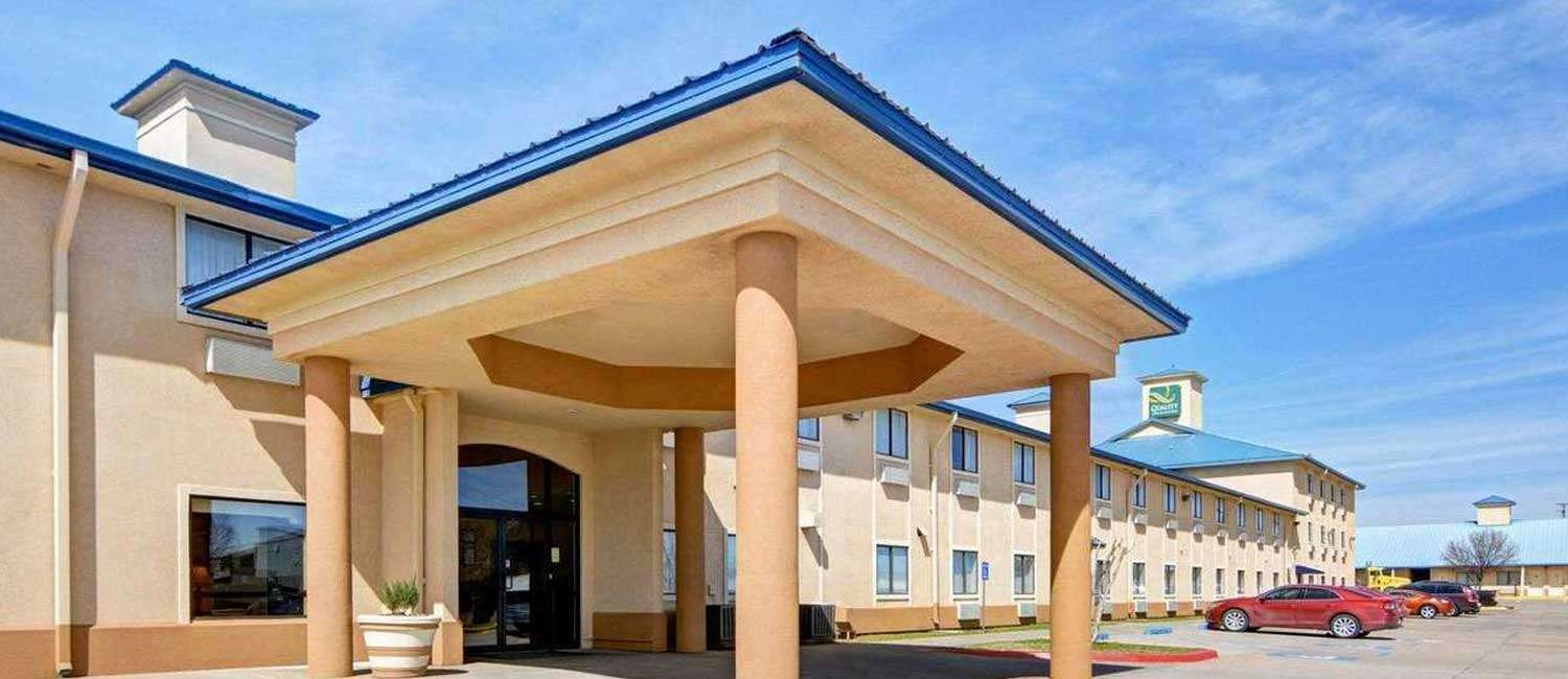 THE QUALITY INN & SUITES WICHITA FALLS OFFERS SPACIOUS GUEST ACCOMMODATIONS AND TOP AMENITIES