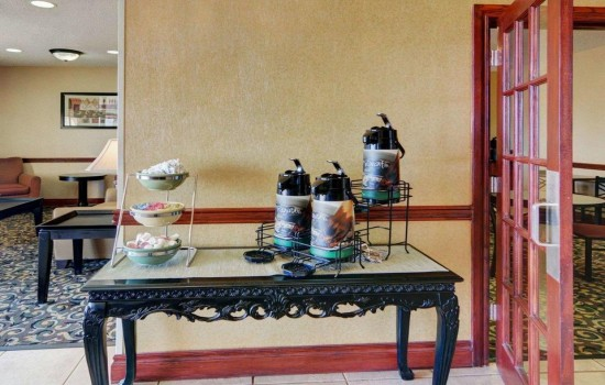 Welcome To Quality Inn Wichita Falls - Complimentary Coffee In Lobby