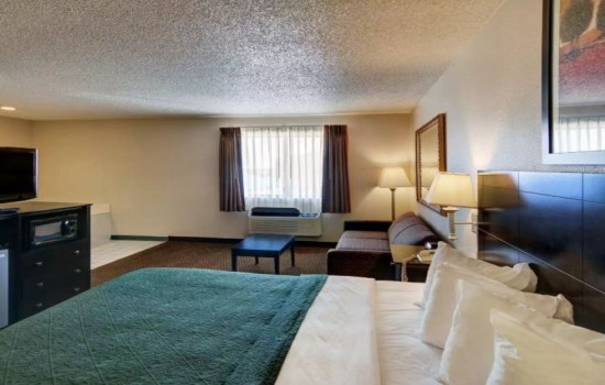 Welcome To Quality Inn Wichita Falls - King Suite With Living Room